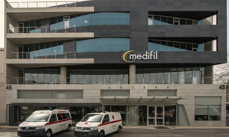 μονάδα αιμοκάθαρσης medifil