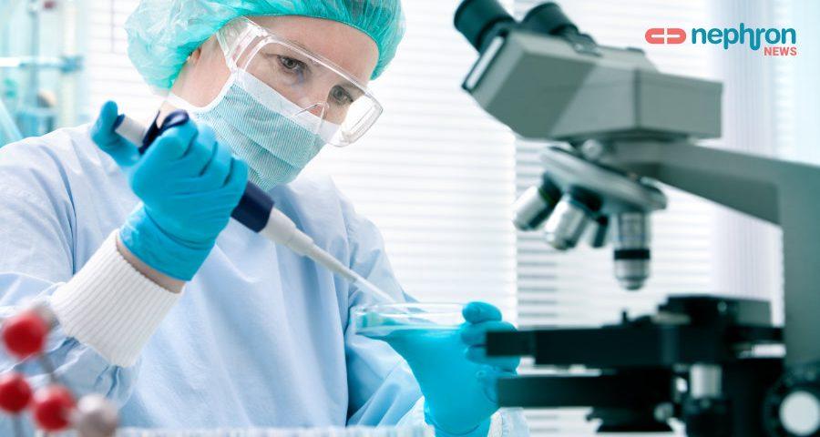 ερευνητής με μικροσκοπιο