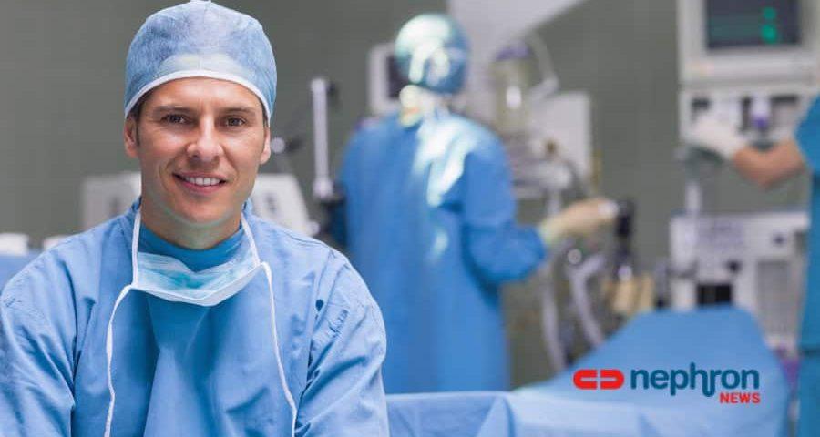 χαμογελαστός χειρουργός