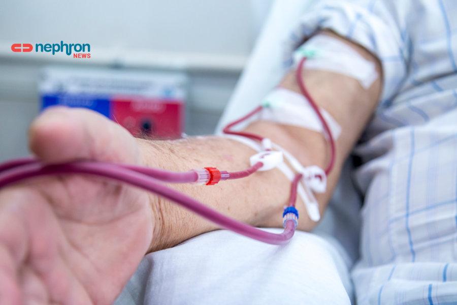 ασθενής σε αιμοκάθαρση