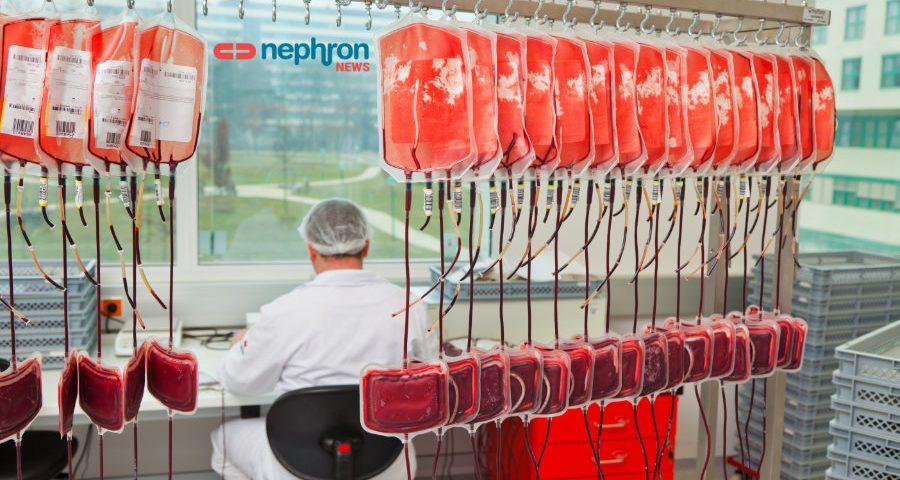 ερευνητής και φυάλες αίματος