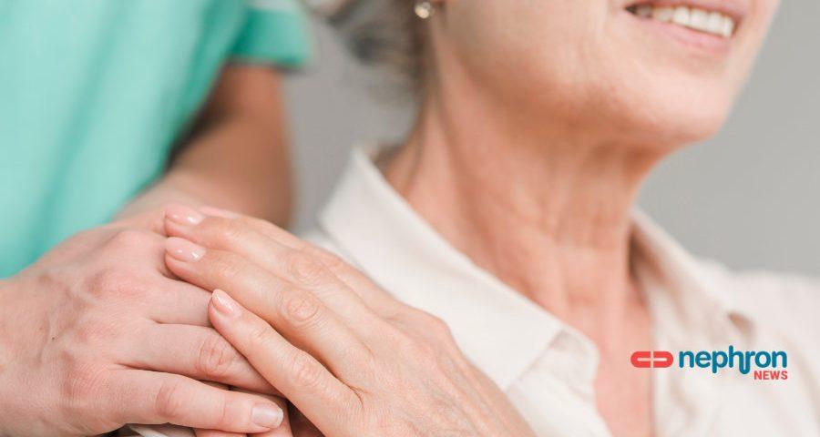 ηλικιώμενη νεφροπαθής