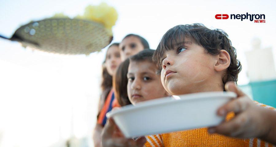 πεινασμένα παιδιά