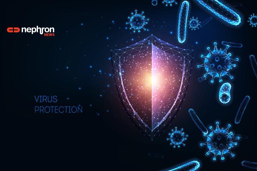 ιοί και βακτήρια υπό την προστασία ασπίδας