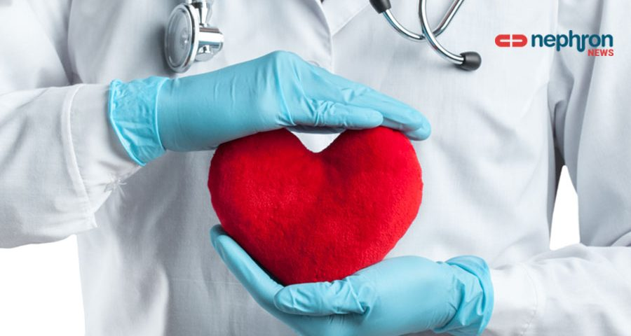 heart in doctors hands