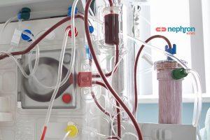λεπτομέρεια μηχανήματος τεχνητού νεφρού