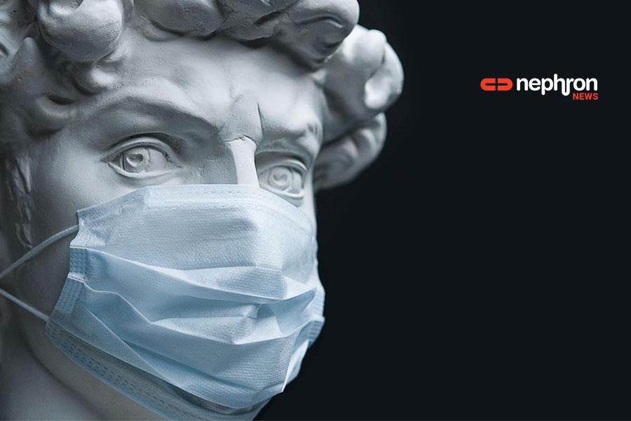 άγαλμα με μάσκα