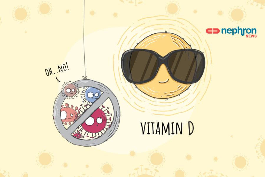 vitamin d και κορονοϊός