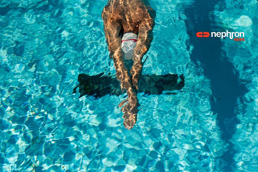 αιμοκαθαιρόμενος κολυμβητής