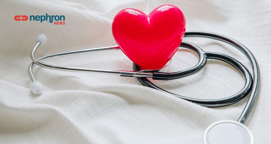 κόκκινη καρδιά με στηθοσκόπο