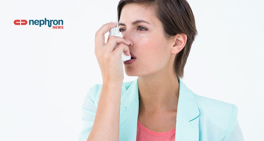 γυναίκα με ασθμα