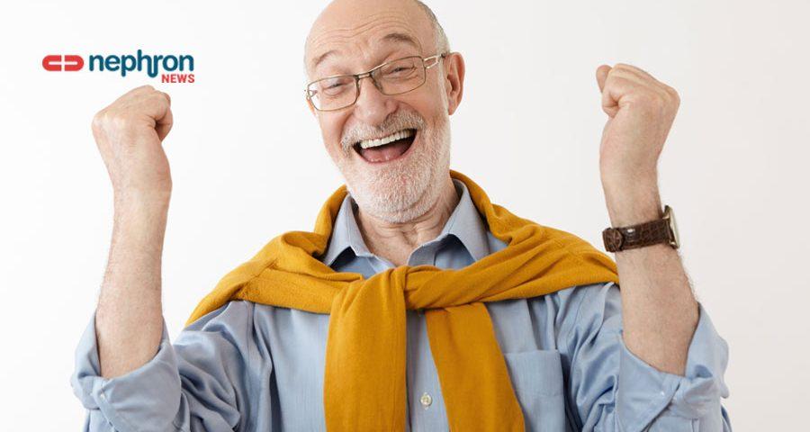 χαρούμενος συνταξιούχος