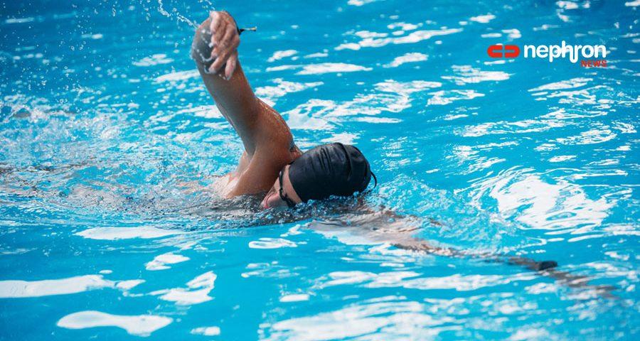 Για δεύτερη χρονιά ο αιμοκαθαιρόμενος αθλητής του Συλλόγου Αθλουμένων Νεφροπαθών, Βασίλης Μάρκου, συμμετέχει στον 22ο Κολυμβητικό Διάπλου της Λίμνης Πλαστήρα