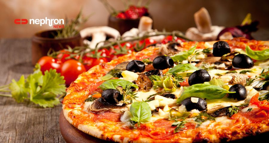 pizza η αγαπημένη: παρασκευάζουμε και υπολογίζουμε νάτριο, κάλιο και φώσφορο μιας χειροποίητης σπιτικής πίτσας